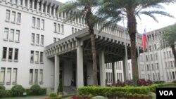 台灣外交部大樓(美國之音張永泰拍攝)