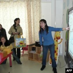 产品成为大陆连锁幼儿教育中心辅助教材