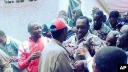 Freeman Mbowe kiongozi wa CHADEMA akifikishwa mahakamani Arusha