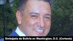 Pablo Canedo, encargado de negocios de la Embajada de Bolivia en Washington, D.C.
