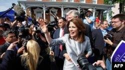 Nữ Dân biểu Michele Bachmann loan báo quyết đinh tranh cử tổng thống