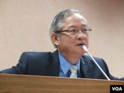 台湾执政党国民党立委林郁方(美国之音张永泰 拍摄)