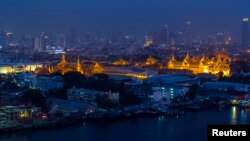 FILE - The Grand Palace in Bangkok, Apr. 10, 2014.