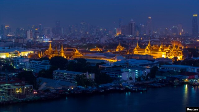 FILE - The Grand Palace in Bangkok, Apr. 10, 2014.