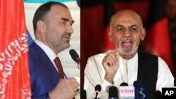 آقای نور گفت که تا کنون به آقای احمدزی مبارکباد نگفته است.