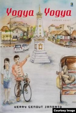 """Cover Novel """"Yogya Yogya"""". (foto: courtesy)."""
