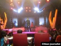 Chris Crow Ketika Menjadi Kontestan Asing Star di Indonesia (foto/dok: Chris Crow)