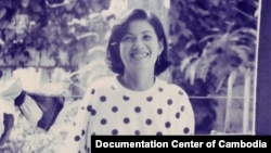 Keo Kolthida Ekkasakh (Kol) was born in 1959 in Phnom Penh, she passed away after a long struggle with cancer. (Courtesy of Youk Chhang/Documentation Center of Cambodia)