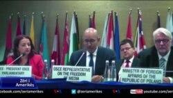 """OSBE rekomandon ndryshime të tjera në """"Paketën Antishpifje"""" të qeverisë"""