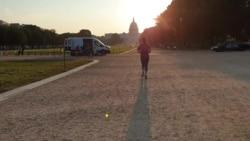 Наутро, на пладне, навечер... Вашингтон трча
