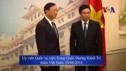 Nhà ngoại giao hàng đầu Trung Quốc trở lại Việt Nam