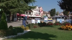 Самоук уметник му дава нов лик на зеленилото во Охрид