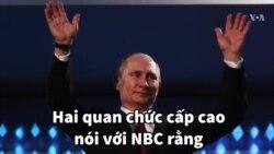 Ông Putin can dự trực tiếp vào bầu cử Tổng thống Mỹ