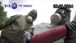 Đức chấp thuận tiêu huỷ số vũ khí hoá học còn lại của Syria (VOA60)