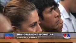 Obamaning immigratsiya haqidagi farmoni - US Immigration