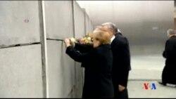 2014-11-09 美國之音視頻新聞: 德國紀念柏林圍牆倒塌25週年