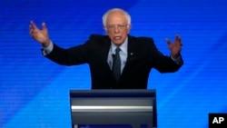 Demokratski predsjednički kandidat Bernie Sanders