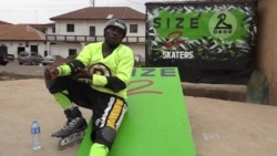 Nigerian Uses Roller Skating to Unite Youths in the Streets
