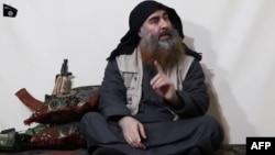 Abubakar al-Baghdadi a wani sabon hotonsa