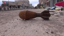 کۆبانی لە پاش داعش مین و تەقەمەنی