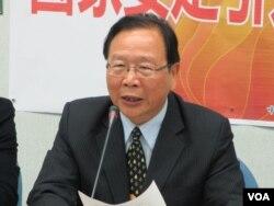 台灣在野黨國民黨立委林德福 (美國之音張永泰拍攝)