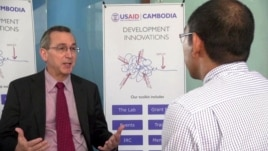 Scot Marciel, Principal Deputy Assistant Secretary Bureau of East Asian and Pacific Affairs for the US State Department, in an interview with VOA Khmer Wednesday.
