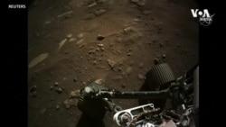 """NASA公佈""""毅力號""""登陸火星影片"""
