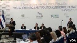 Los funcionarios reunidos en El Salvador aseguran que la migración es una preocupación mundial.