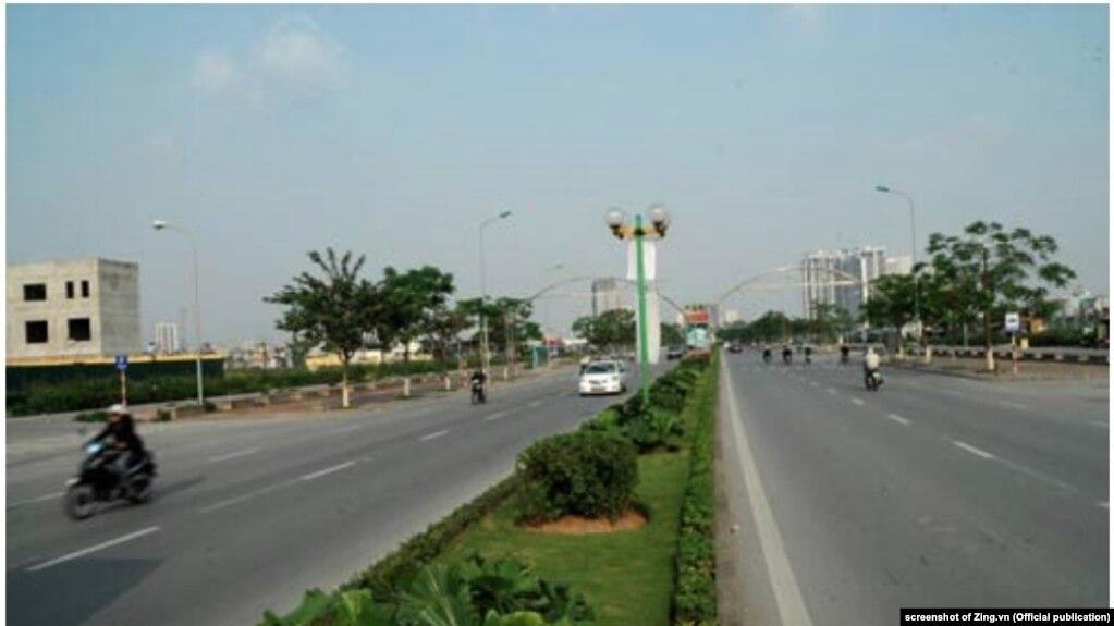 Một con đường được đặt tên Tố Hữu ở Hà Nội.