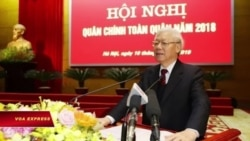 Chủ tịch nước: Quân đội phải 'tuyệt đối trung thành' với Đảng