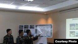 中国在有争议的斯普拉特利群岛快速填海