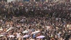 جنبش دموکراسی خواهی، بار دیگر در هنگ کنگ اوج گرفت