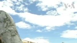 'Cầu Vàng' nằm trên hai bàn tay khổng lồ ở Bà Nà