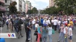 Xwepêşandanên Dijî Maduro li Venezuela Berdewam in