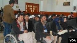 تجمع شماری معلولین در هرات