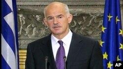 Ο Πρωθυπουργός της Ελλάδας Γιώργος Παπανδρέου