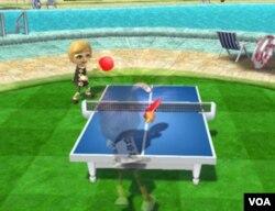 Los movimientos que haces con el mando se traducen perfectamente en los movimientos de la raqueta.