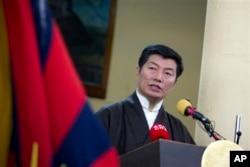 西藏流亡政府总理洛桑森格