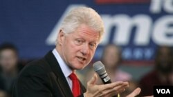 Ansyen Prezidan Ameriken an Bill Clinton