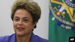Tổng thống Brazil Dilma Rousseff.
