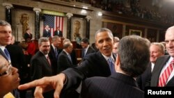 奧巴馬在國情咨文發表前