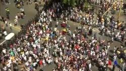 委內瑞拉反對派與警方爆發衝突 (粵語)