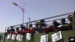 中国警方镇压西藏僧侣