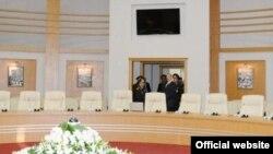 Prezident Ilham Əliyev və fövəladə hallar naziri Kəmaləddin Heydərov