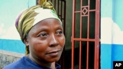 Fifty-year-old Mawazo says she will never return to her village in the countryside of the Democratic Republic of Congo because she says rebel soldiers control much of the area and if they rape her again, she may be killed, May 2011