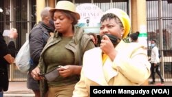 MDC Alliance Trio Joana Mamombe