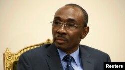 FILE - Haiti's Prime Minister Evans Paul.