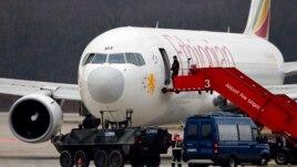 Avioni i rrëmbyer etiopian ulet në Gjenevë