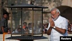 Novi indijski premijer Narendra Modi, Nju Delhi, Indija, 26. maj, 2014.