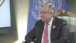 VOA Interview: UN Secretary-General Antonio Guterres